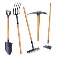 Ручные инструменты для земельных работ